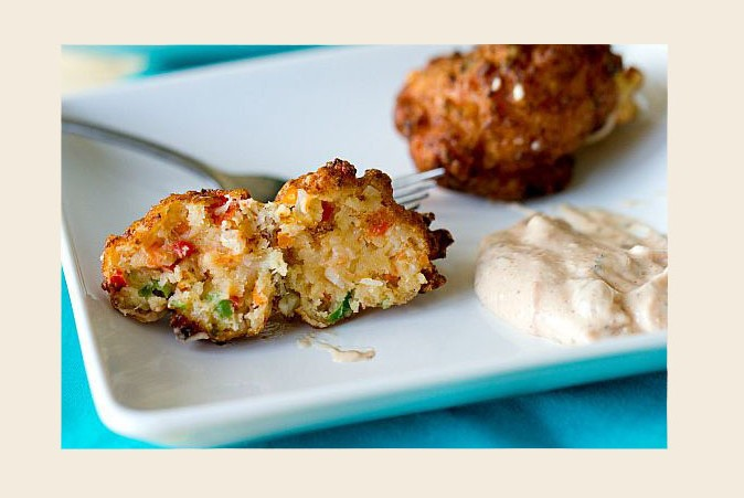 Conch Fritters, a Turks and Caicos speciality. Photo by The Brown Eyed Baker