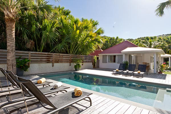 WIMCO Villa, Les Sables, WV CHL, St. Barths, Lorient, Family Friendly, 2 Bedrooms, 3 Bathrooms, Pool, WiFi