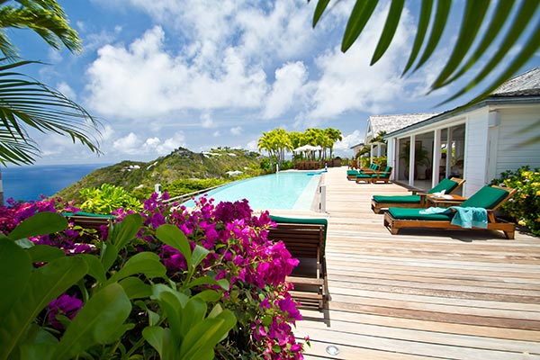 WIMCO Villa La Fleur Sur La Mer, WV BWH, St. Barths, Colombier, Family Friendly, 5 Bedrooms, 5 Bathrooms,  Pool, WiFi
