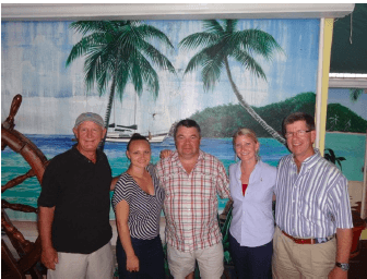 The WIMCO team with our Virgin Island partners