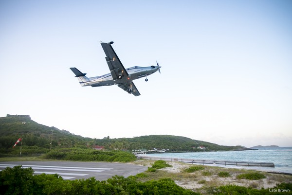 WIMCO Villas, Taking off from St. Barths with Tradewind Aviation, Gustavia