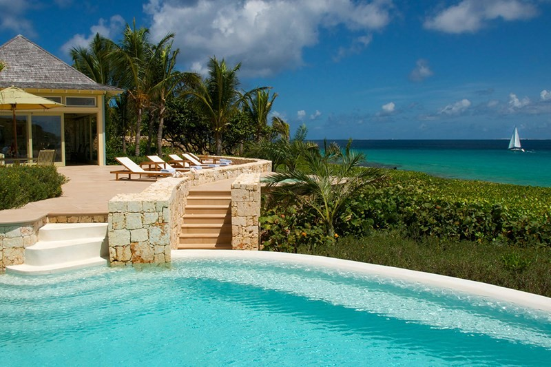 WIMCO Villas, Santosha, AXA SAN, Anguilla, Long Bay, Family Friendly Villa, 6 Bedroom Villa, 7 Bathroom Villa, Pool, Villa Pool, WiFi, Top 10 New Villas 2016