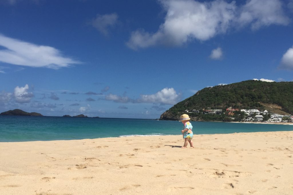 Flamands Beach St Barths Kids