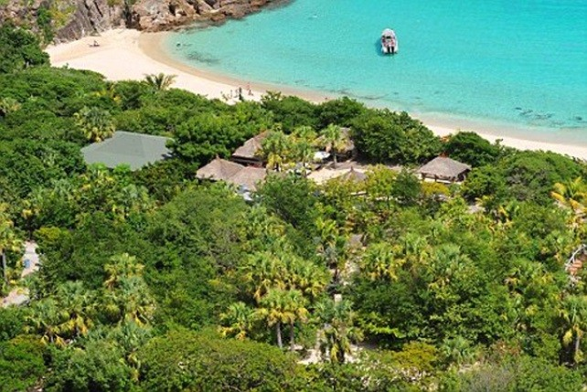 Roman Abramovitch $90 million compound on Gouverneur Beach in St. Barts.