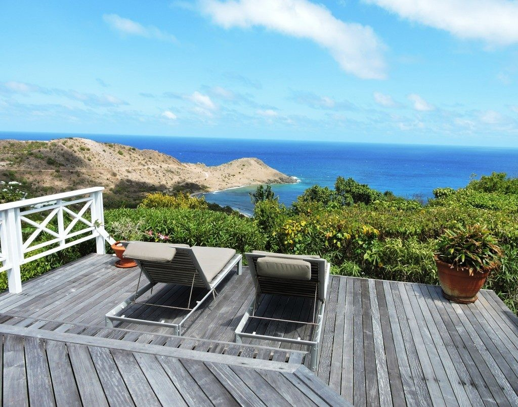 View From Wimco Villa Oceana St Barts