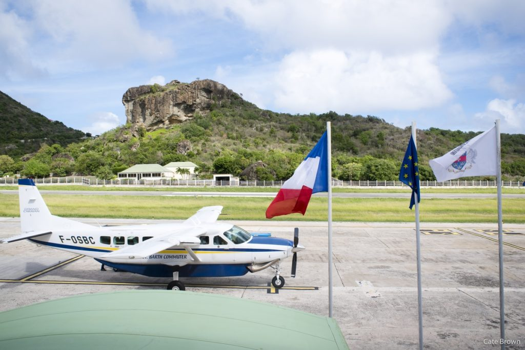Is there anything better than landing in St. Barths?