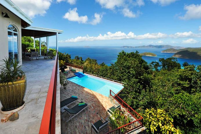 villa vacation rental - Villa CT MAG, Catherineberg, St. John