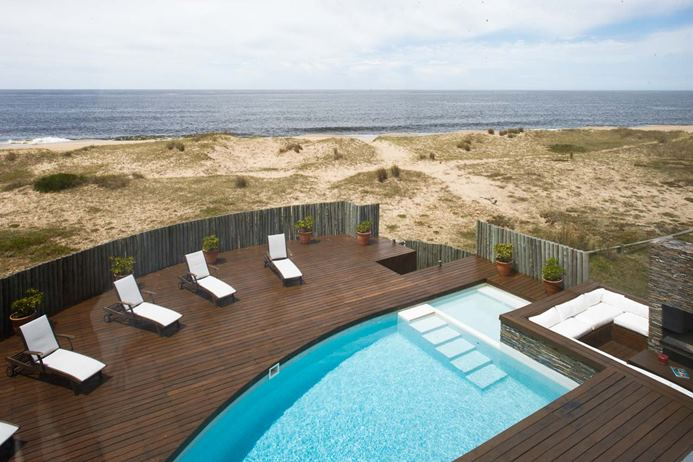 WIMCO Villa Las Dunas is a superb beachfront villa located on the golden sands of Santa Monica Beach, Uruguay.