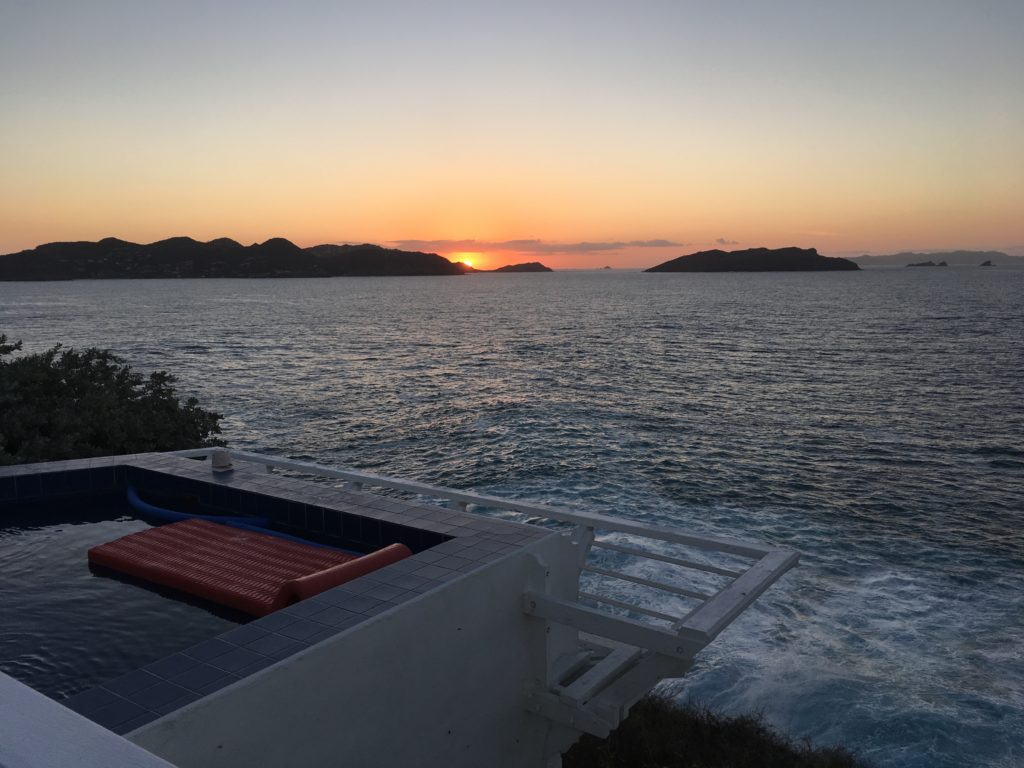 Sunset at MOZ at St. Barthelemy, Pointe Milou, Family-Friendly Villa, Pool, 4 Bedrooms, 4 Bathrooms, WiFi, WIMCO Villas