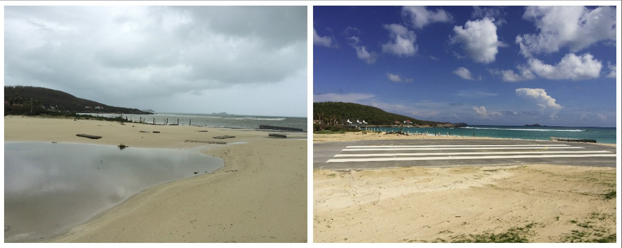 Airport Oct. 5, Photos courtesy of Le Journal de St Barth