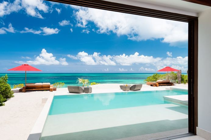 Turks and caicos villa, ocean view, caribbean, vacation rental, vacation home,