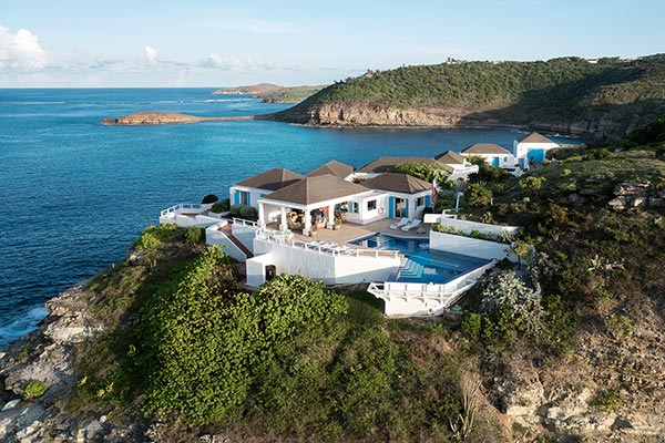 Villa MOZ St. Barts, caribbean, vaction rental, rental house