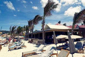 Pearl Beach resaurant on st. barths, beach bars, beach restaurant, oceanfront dining