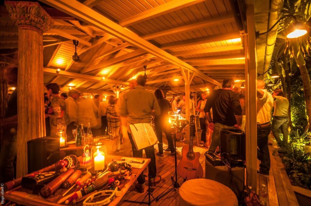 Ambiance at Tamarin for the Vendome Guide party, WIMCO Villas, St Barths Restaurants