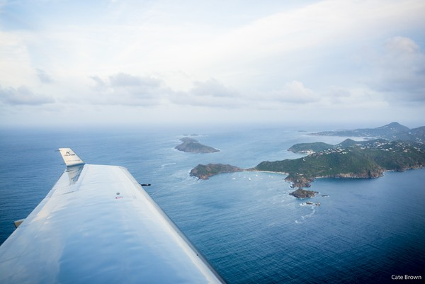 Flying with Tradewind Aviation from San Juan to St. Barths, WIMCO Villas