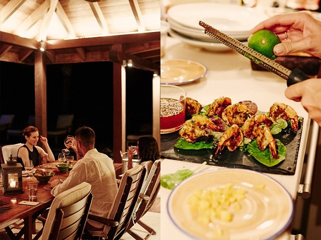 Dining in St. Barths