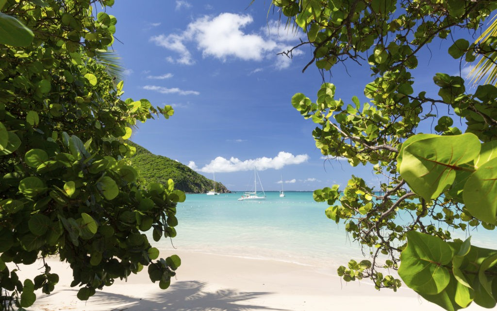 Glorious beach at Anse Marcel on St Martin, hotel reopening dates.