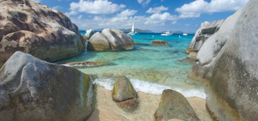 View from the Baths, Virgin Gorda, British Virgin Islands