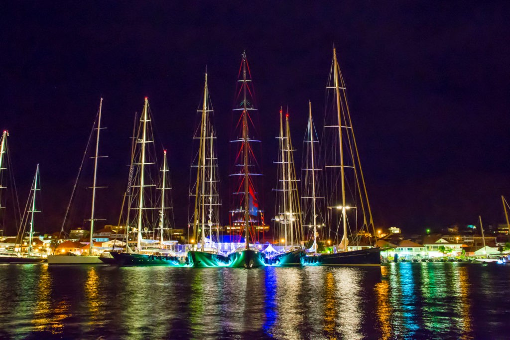 yachts in st barts