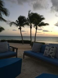 Sunset at Altamer, a collection of three WIMCO villas that are fully staffed on Anguilla