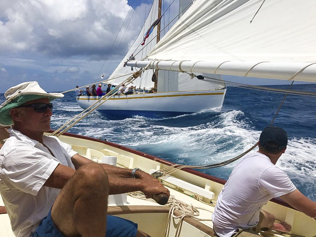 Free in St. Bart from Genesis, West Indies Regatta 2017 Photo: Marie Claude Dubois