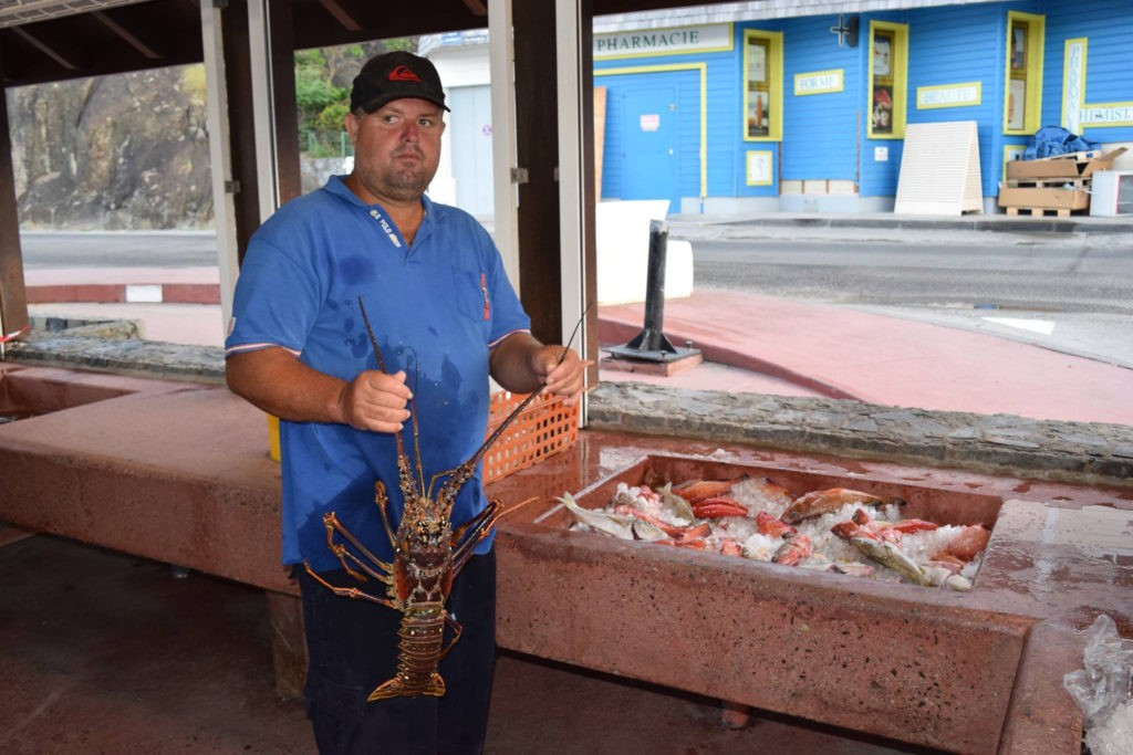 Catch of the day, credit Le News, st barts