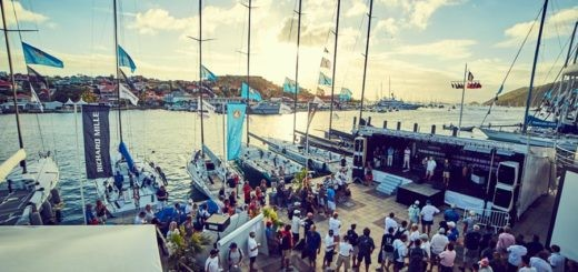 Les Voiles de St Barth 2016 racing village