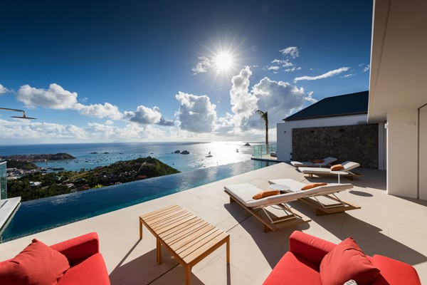 Vacatoin rental in st barts