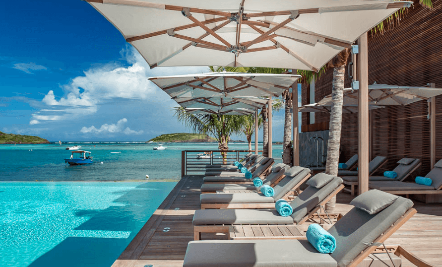 Best Hotels in St Barts - Le Barthelemy hotel also known as st barts