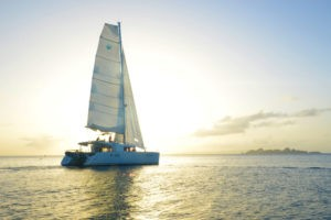 Sailing in st barts