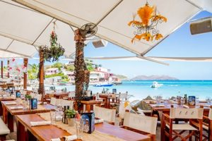 Nikki Beach Restaurant in St Barts